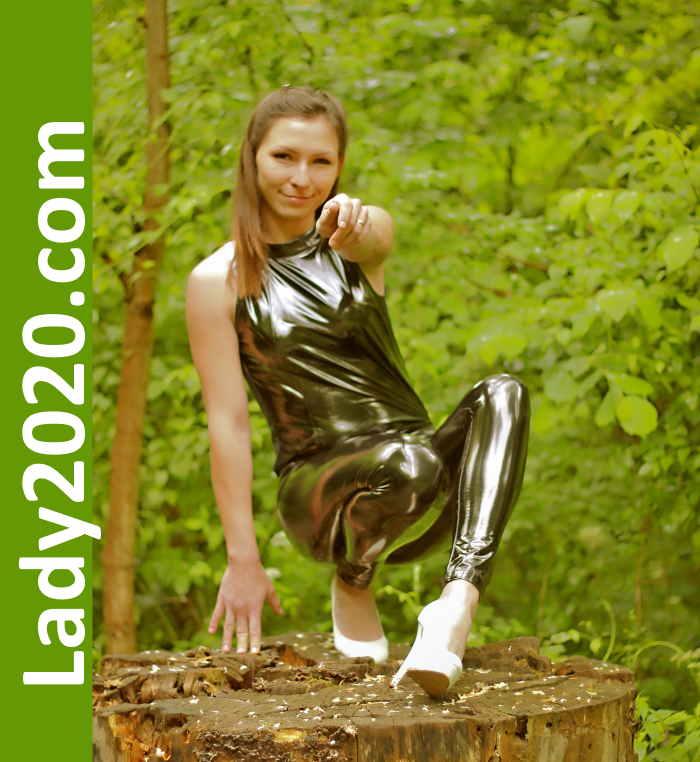 Shiny forest lady